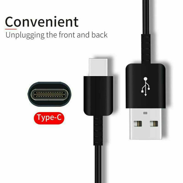 Fast Google Pixel 4a 5G   Pixel 5 5G USB Type C Charger Charging Cable Black