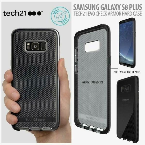 Genuine tech21 Evo Check FlexShock Case For Samsung Galaxy S8 Plus
