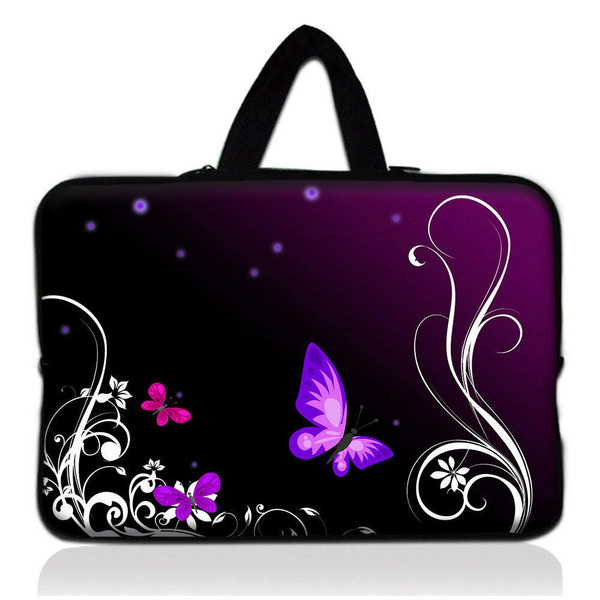15.6 inch Laptop PC Butterfly Shoulder Bag Carrying Soft Notebook Case Cover