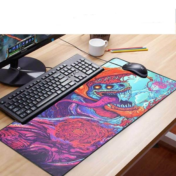 90x40cm Desk Mat Gaming Mouse Pad Large Laptop Keyboard Non-Slip