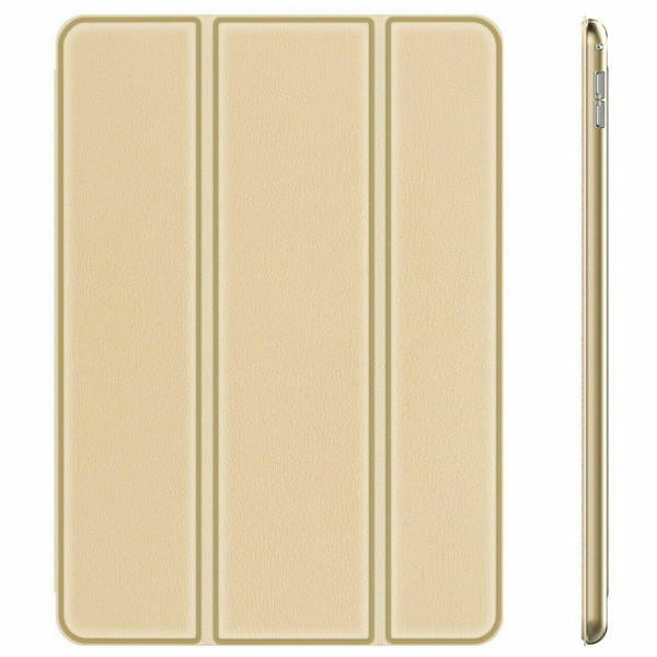 Gold  For Apple iPad 9th Generation 10.2 Case Smart Stand Cover 2021