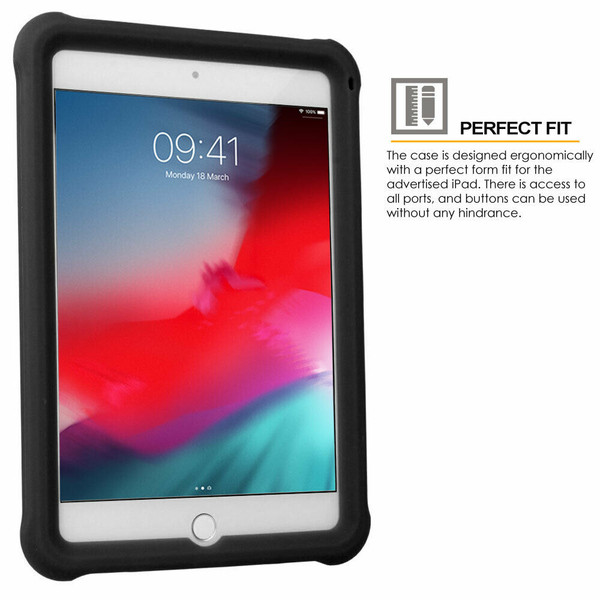 for iPad  10.2 9th gen 2021 Rugged Soft Silicone Shockproof Kids BUMPER Case Cover