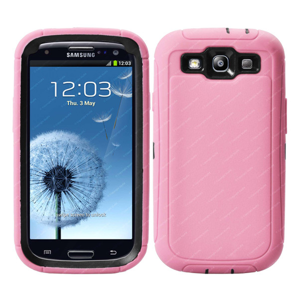 Defender Cover Case for Samsung Galaxy S3 / SIII - Pink