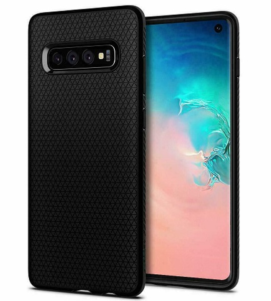 Galaxy S10  Case Spigen Liquid Air Cover - Black