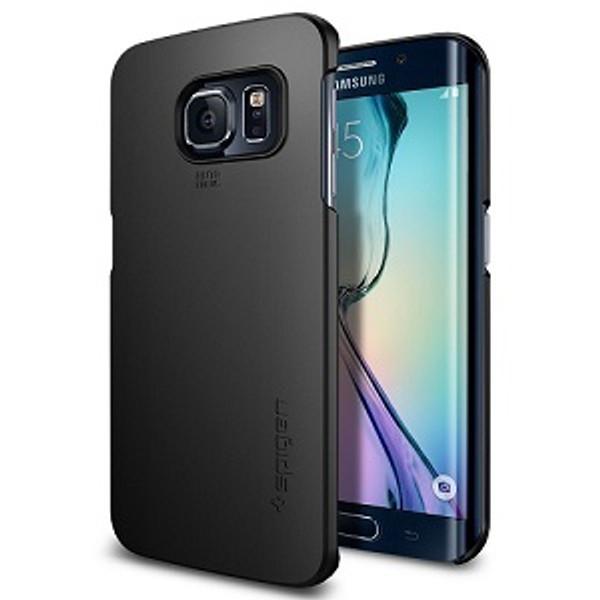 Galaxy S6 Spigen Case Thin Fit Smooth Black
