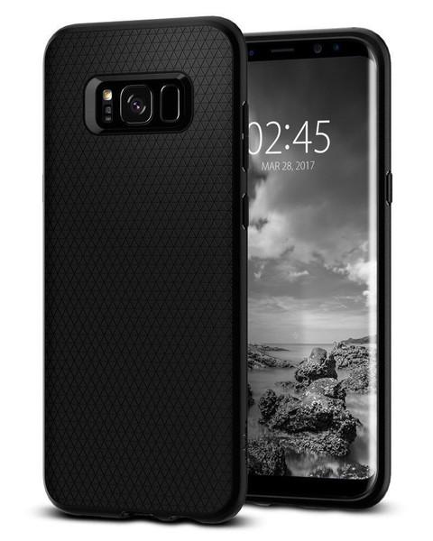Galaxy S8 Case Spigen Liquid Air Cover - Black