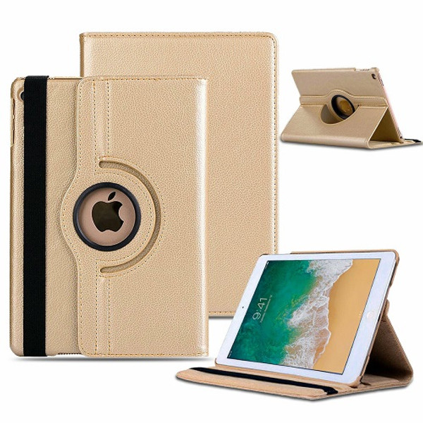 """Apple iPad Air  3 10.5"""" (2019) 360° Rotating Magnetic Smart Stand Gold Case"""