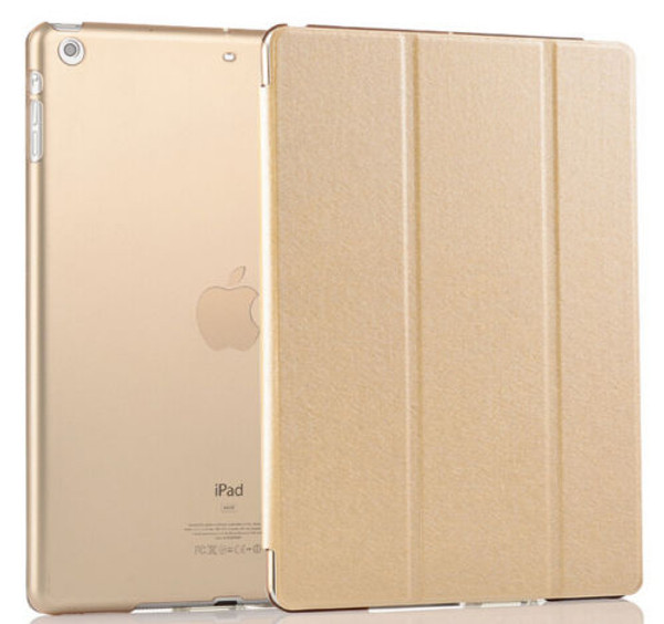 Gold Smart Magnetic Leather Stand Case for ipad Mini