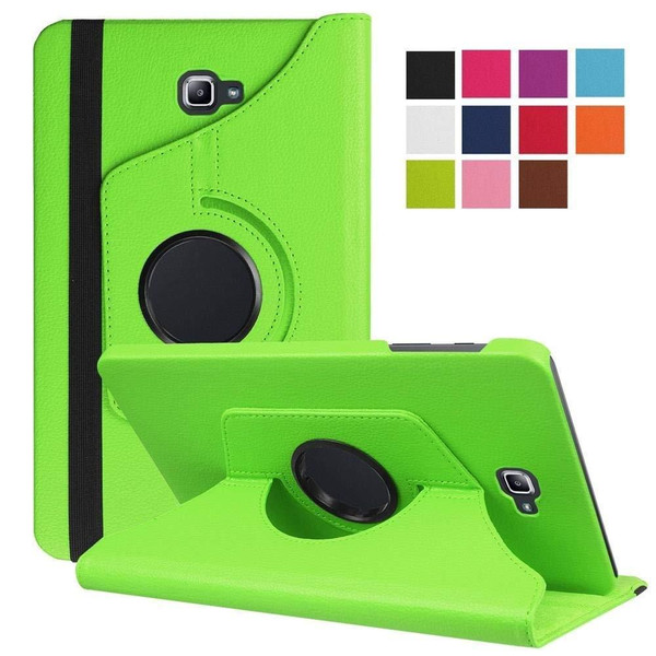 Green PU Leather 360 Rotating Case for Samsung Galaxy Tab 3 8.0 (T310/T311)
