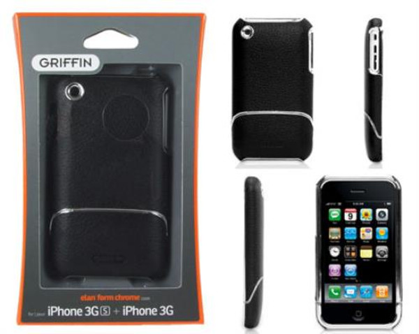 Griffin elan form chrome iPhone 3G and 3Gs Case