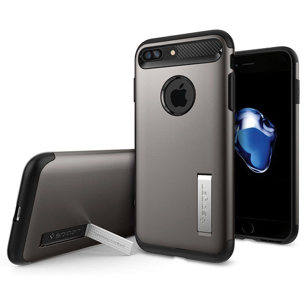 iPhone 7 Plus Spigen Case Slim Armor Gunmetal