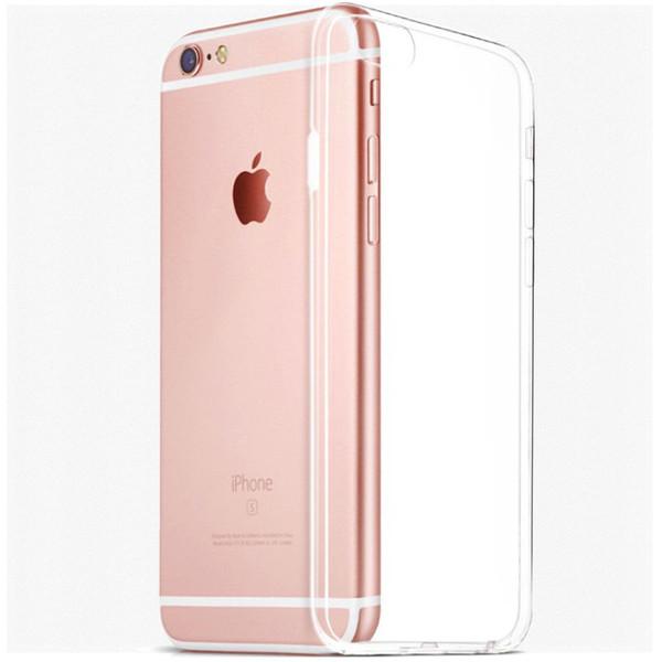 iPhone 7 TPU Gel Crystal Clear Back Case