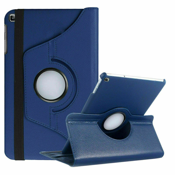 Navy Blue PU Leather 360 Rotating Case for Samsung Galaxy Tab  S 10.5 (T800/T801/T805)