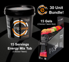 15 servings of TORQ Energy Drink Mix and TORQ Energy Gels
