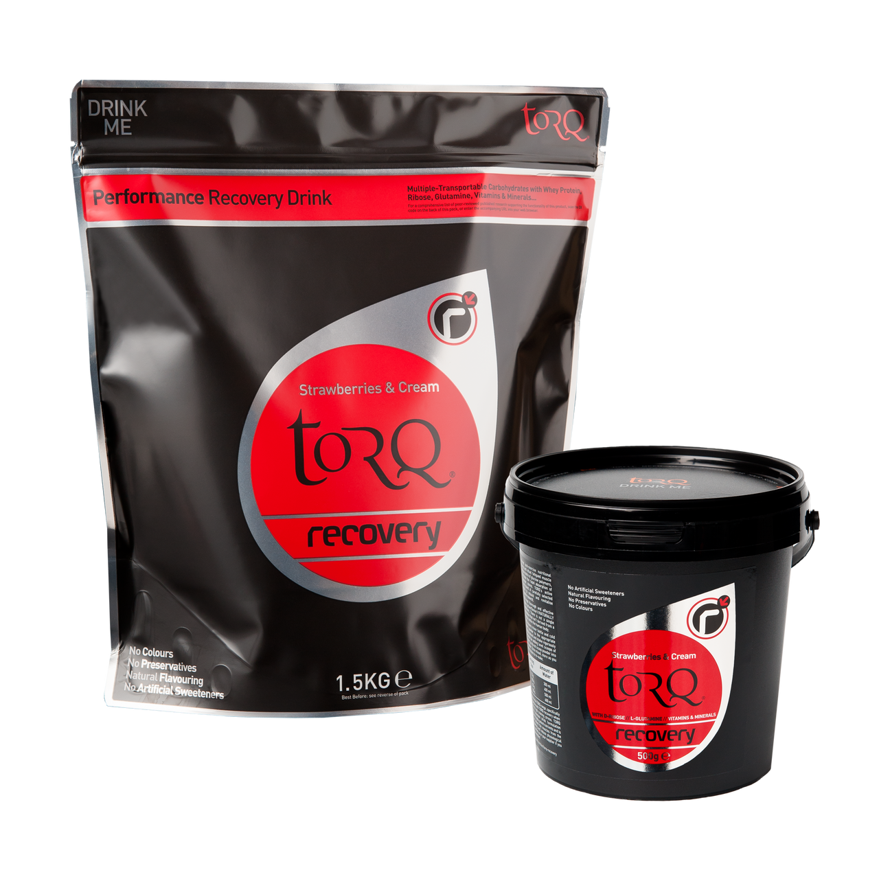 TORQ Recovery - Strawberries & Cream