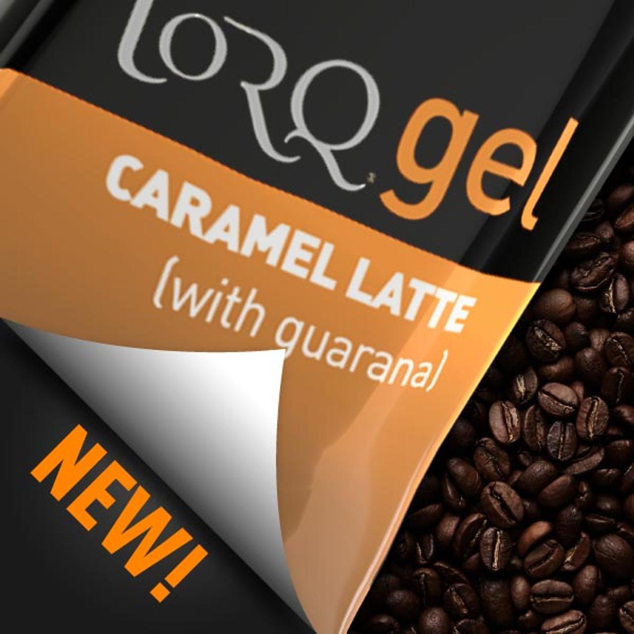 TORQ Gel - Caramel Latte w/ 89mg Guarana