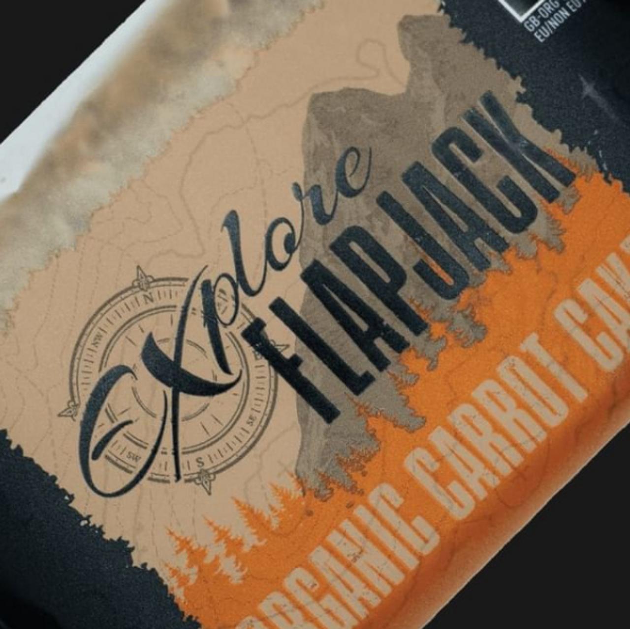 TORQ Explore Organic Flapjack  - Variety 10 Pack