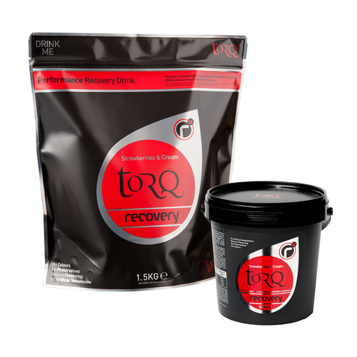TORQ Recovery Drink - Strawberries & Cream