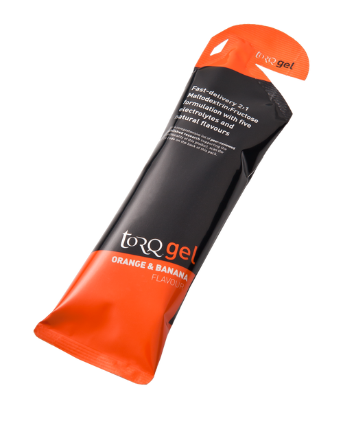 TORQ Energy Gel - Orange & Banana 15ct Box
