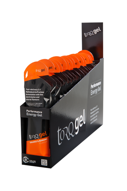 TORQ Energy Gel - Orange & Banana 15ct Box