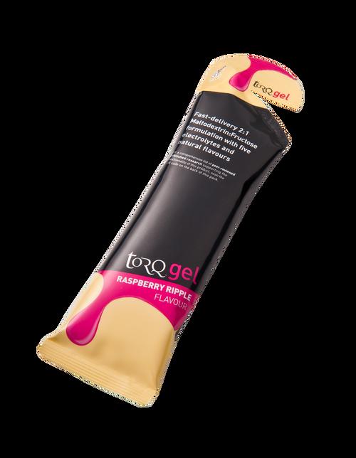 TORQ Energy Gel - Raspberry Ripple 15ct Box