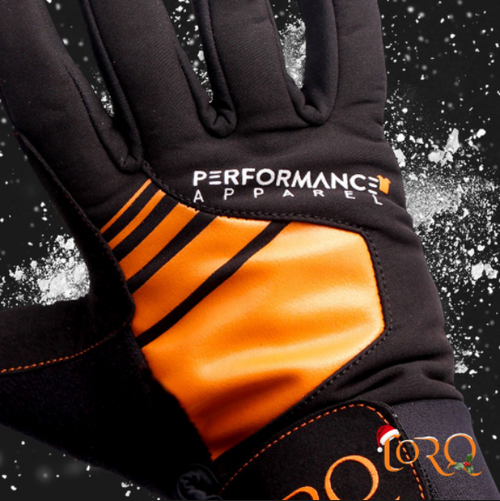 Our technical thermal winter gloves have a thick velcro cuff to keep the warm air in and cold air out and durable palms to tackle the rigors of winter cycling.