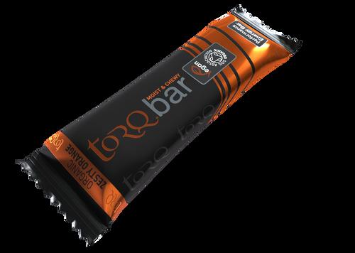 TORQ Organic Energy Bar - Zesty Orange 15ct Box