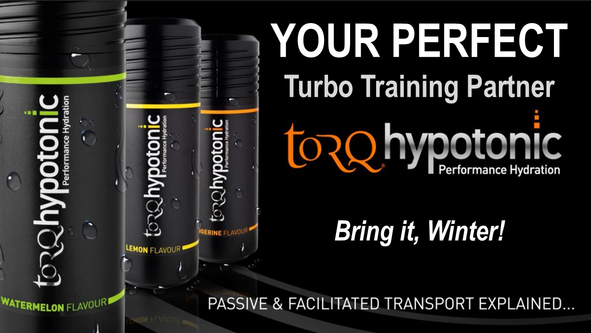 NEW Hypotonic Flavor & Winter Turbo Training