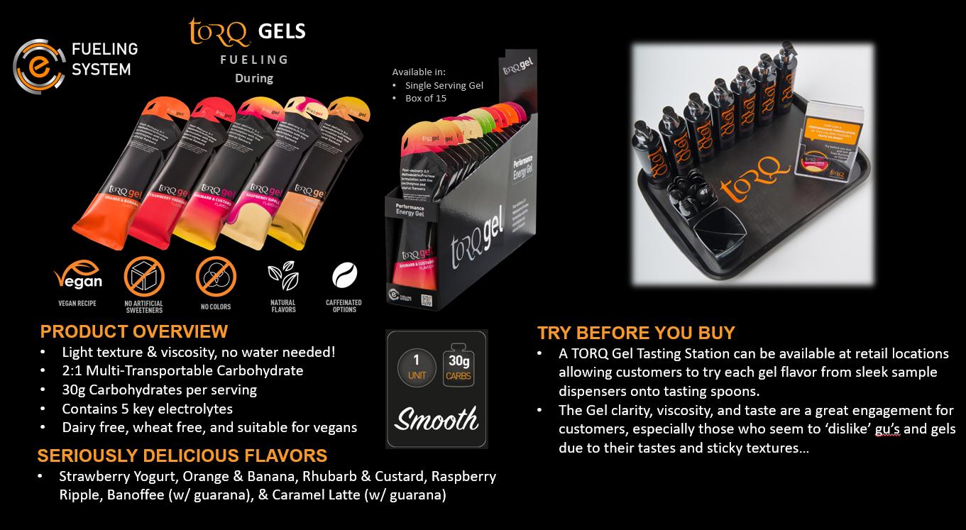 TORQ Gels Overview
