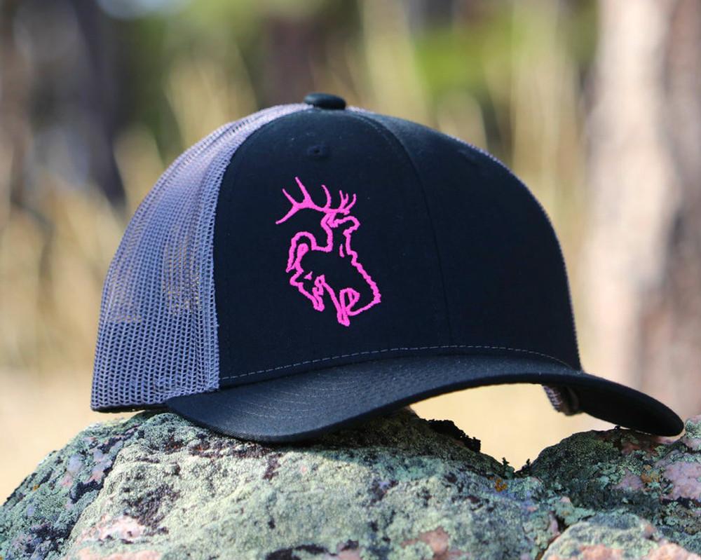 ShedNecks Edge- Pink & Black