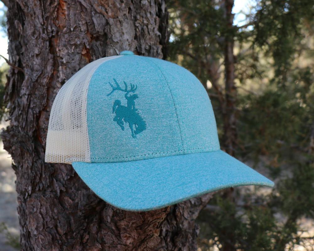 ShedNecks Heather Aqua Hat