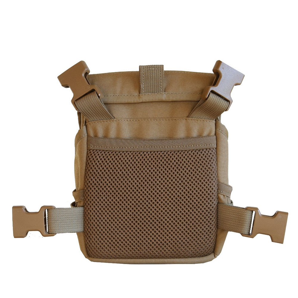 Coyote Brown Rear showing NEW cell phone pocket