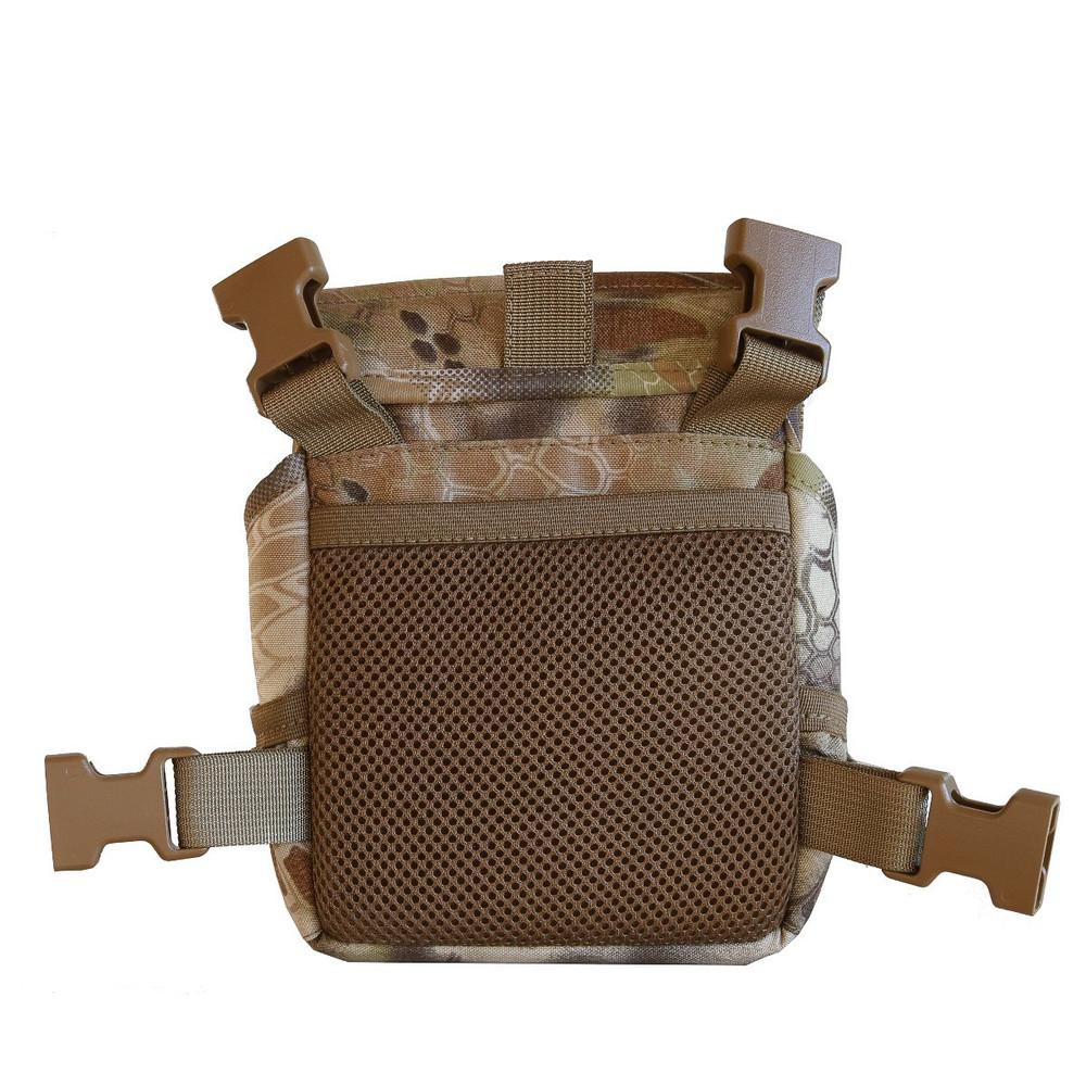 Kryptek Highlander Camo Rear showing NEW cell phone pocket