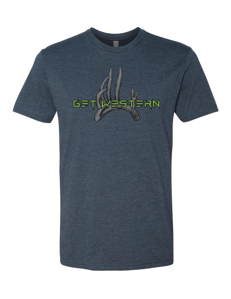 Men's Get Western Whitetail T-Shirt
