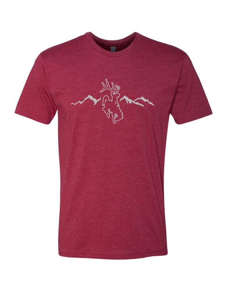 Heather Red/Grey Rocky Mt T Shirt