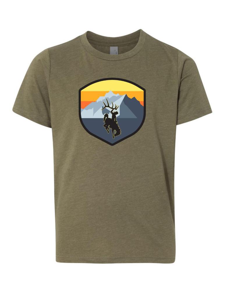 YOUTH Peak T-Shirt - Olive
