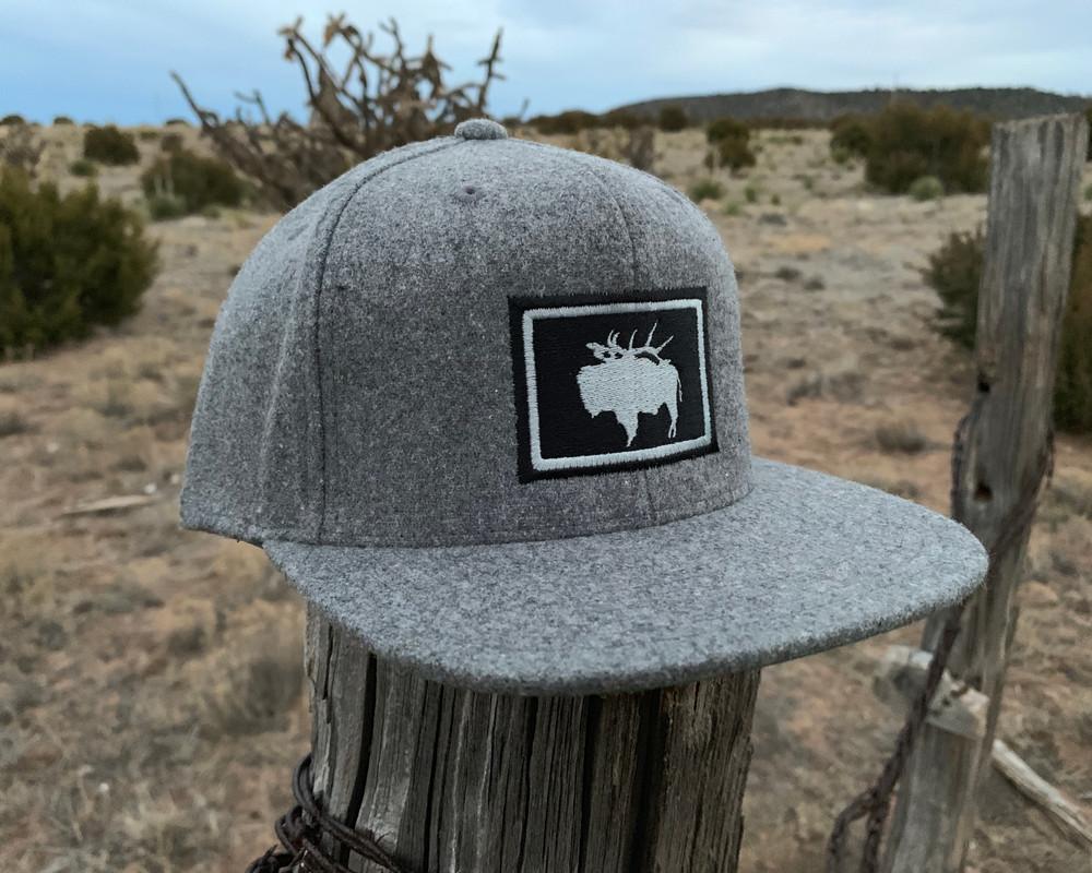 Get Western Pack Buff Wool Flatty - Heather Gray