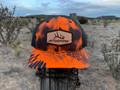 Get Western Leather Patch Elk Shed Hat - Kryptek Inferno/Black
