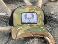 Get Western Velvet Muley Bowhunter Patch Hat - Multicam/Black