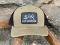 Get Western Gravedigger Elk Patch Hat - Olive/Black