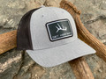 Get Western Elk Shed Patch Hat - Heather Gray/Black