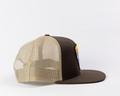 ShedNecks Patch Brown/Khaki Flat Brim