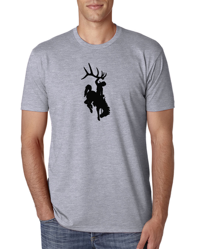 Bucking Horse Grey Shirt