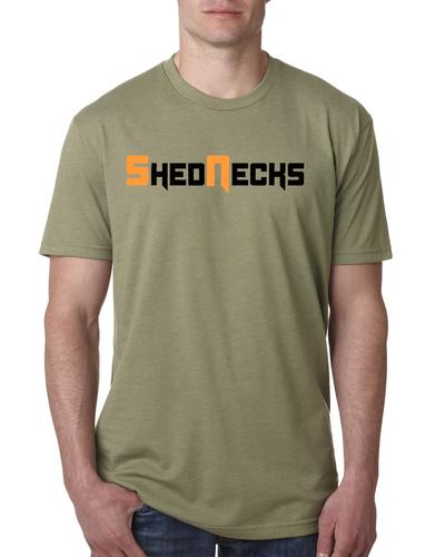 Shednecks Olive Shirt