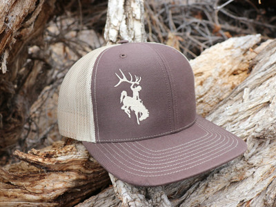 ShedNecks Brown & Khaki Hat