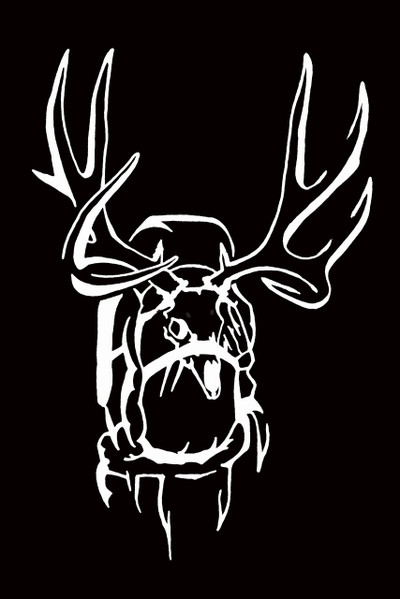 Get Western Muley Pack Decal