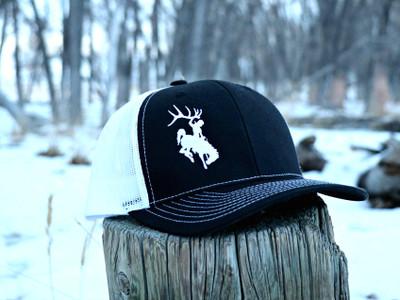 ShedNecks Black & White Hat