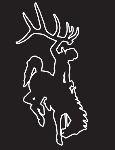 Bucking Horse Edge Decal
