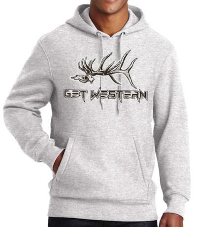 Get Western Grave Digger Elk Hoodie
