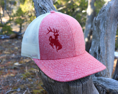 ShedNecks Heather Red Hat
